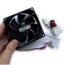 Кулер корпусный CoolerMaster 8cm Super Fan 80SU1 SAF-B83-E1-GP