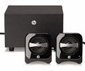 Колонки HP Multimedia 2.1 Compact Callisto Speaker System (BR386AA) Black