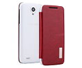 Чехол Rock Elegant Shell для Lenovo S820, Wine Red