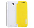 Чехол Rock Elegant Shell для Lenovo S820, Lemon Yellow