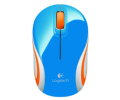 Мышь Logitech M187 Optical Wireless Mini Mouse Blue 910-002738