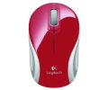 Мышь Logitech M187 Optical Wireless Mini Mouse Red 910-002737