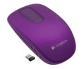 Мышь Logitech T400 Zone Touch Optical Wireless Mouse Wild Plum 910-003680